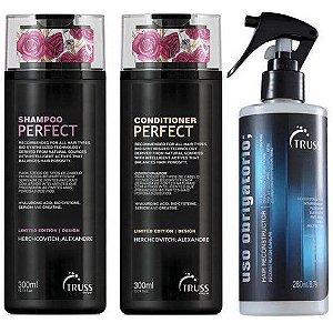 Kit Perfect Obrigatório - Shampoo e condicionador 300ml e uso obrigatorio 260ml