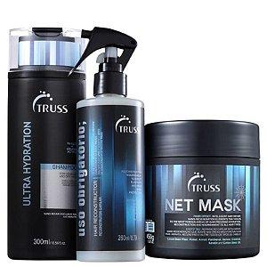 Kit Ultra net obrigatório - shampoo 300ml Uso Obrigatorio 260ml e mascara 550g