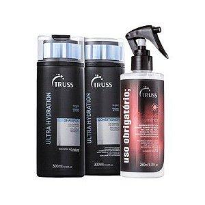 Kit Ultra Hydration Summer - shampoo e condicionador 300ml e uso obrigatorio summer 260ml