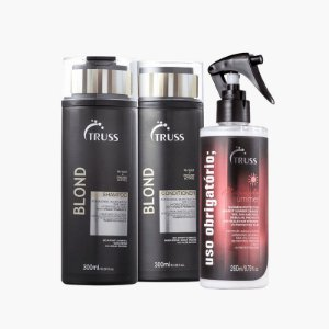 Kit Blond Summer - shampoo e condicionador 300ml e uso obrigatorio summer 260ml