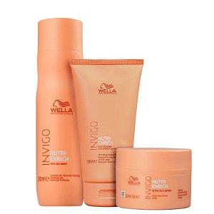 Kit Nutri - Enrich - Shampoo e condicionador 200ml e mascara 150ml