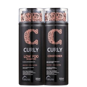 Kit Curly Low Poo Truss - Shampoo e condicionador 300ml