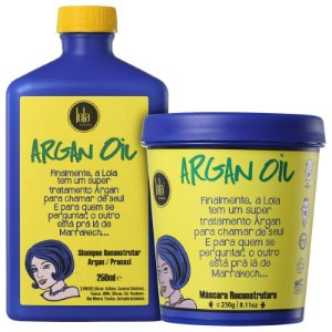 Kit Argan Oil - Shampoo 250ml e mascara 230ml
