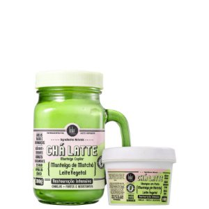 Kit Cha Latte  Matcha - Shampoo 100ml e mascara 350ml