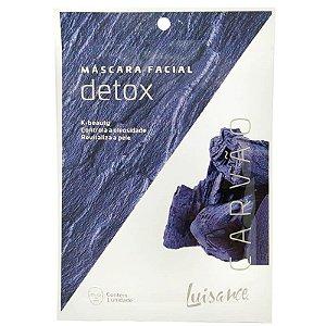 Mascara Facial Detox de Carvão Luisance - Controla a oleosidade e revitaliza a pele