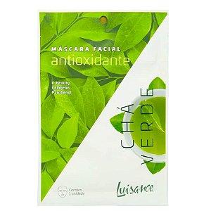 Mascara Facial de Chá Verde - Antioxidante