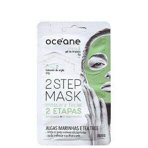 Mascara facil 2 steps Oceane - Algas marinhas e tea tree - 13g