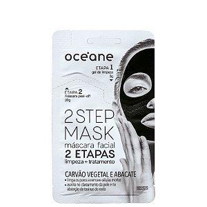 Mascara facil 2 steps Oceane - Carvão vegetal e abacate - 13g