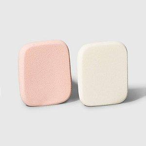 Kit Natural Skin - Esponjas retangulares para maquiagem