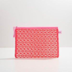 Necessair Lace Bag Pink Oceane - Média