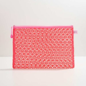 Necessair Lace Bag Pink Oceane - Grande