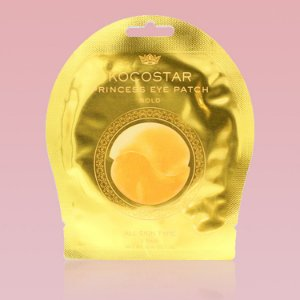 Princess Eye Patch Gold Kocostar - Patch dourado para região dos olhos