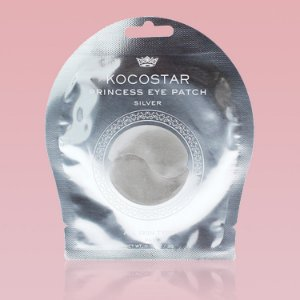Princess Eye Patch Silver Kocostar - Patch prata para região dos olhos