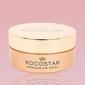 Princess Eye Patch Gold Kocostar - Patch dourado para região dos olhos - 30 unidades