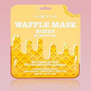 Waffle Mask Honey Kocostar - Mascara facial waffle de mel