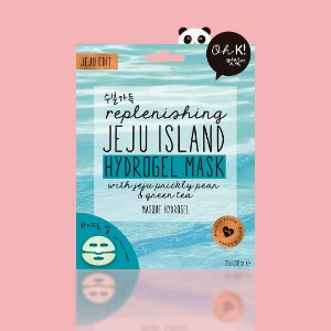 OH K! Replenishing Jeju Island Hydrogel Mask - Mascara ilha de jeju com chá verde e acido hialurônico
