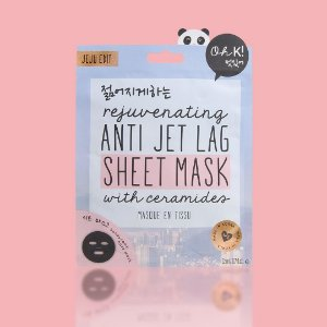 OH K! Anti Jet Lag Sheet Mask - Mascara anti jet lag calmante