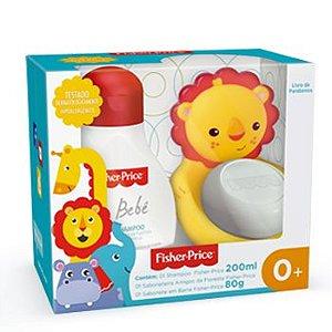 Kit amigos da floresta Fisher Price - Shampoo 200ml e Sabonete em barra 80g