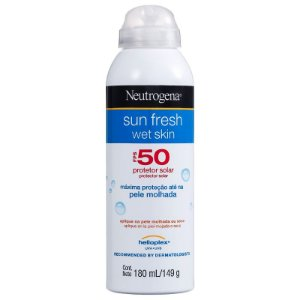 Sun Fresh Wet Skin FPS 50 Neutrogena - Protetor Solar em Spray 180ml