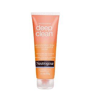 Deep Clean Grapefruit Neutrogena - Sabonete Líquido Facial 80g