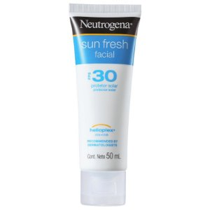 Sun Fresh Facial FPS 30 Neutrogena - Protetor Solar Facial 50ml