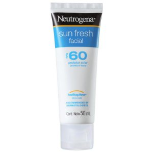 Sun Fresh Facial FPS 60 Neutrogena - Protetor Solar Facial 50ml