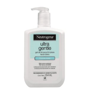 Ultra Gentle Neutrogena - Gel de Limpeza Facial 354ml