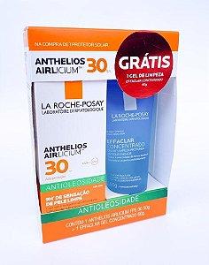 Promo Pack - Anthelios Airlicium FPS 30 + Effaclar Concentrado - Protetor Solar Facial 50ml e Sabonete Concentrado 40g