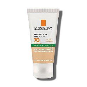 Anthelios Airlicium Cor Clara FPS 70 La Roche Posay - Protetor Solar Facial Matte com Cor 50g