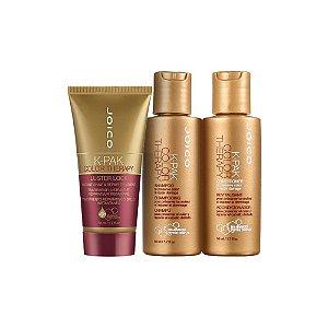 Kit Color Therapy Joico - Shampoo, Condicionador e Mascara Luster Lock 50ml