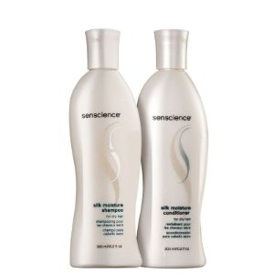 Kit Silk Moisture Senscience - Shampoo e Condicionador 300ml