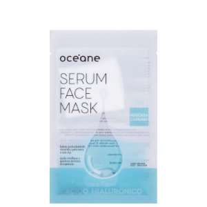 Serum Face Mask Acido Hialurônico Oceane - Mascara facial com acido hialurônico 20ml