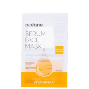 Serum Face Mask Vitamina C Oceane - Mascara facial com vitamina C  20ml