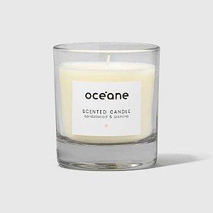Scented Candle Sandalwood e Jasmine Oceane - Vela Aromatica de Sandalo e Jasmim 180g