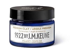 Pasta 1922 Premium Clay Keune - Cera Capilar 75ml