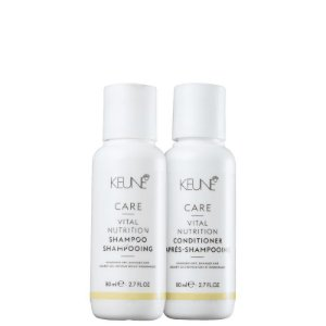 Kit Vital Nutrition Keune Mini - Shampoo 80ml e Condicionador 80ml