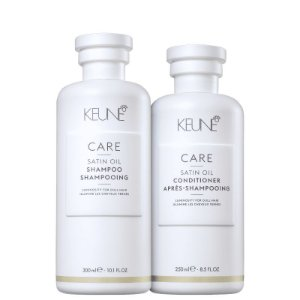 Kit Satin Oil Keune - Shampoo 300ml e Condicionador 250ml