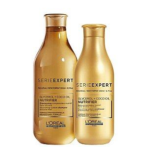 Kit Nutrifier L'oreal - Shampoo 300ml e Condicionador 200ml