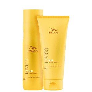 Kit Invigo Sun Wella - Shampoo 250ml e Condicionador 200ml