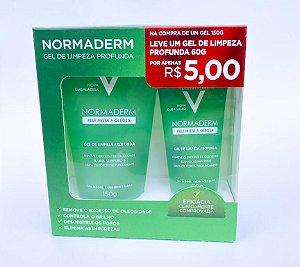 Promo Pack - Normaderm Gel Vichy - Gel de Limpeza 150ml + 60ml