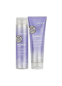Kit Blonde Life Violet Joico - Shampoo 300ml e Condicionador 250ml