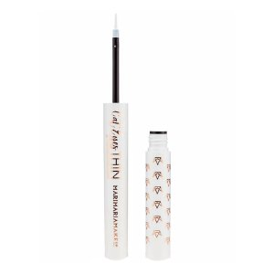Delineador Cat Eyes thin Mari Maria - Divine (Branco) 1,7ml
