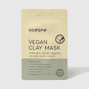 Vegan Clay Mask Oceane - Mascara facial  vegana de argila e minerais 15g