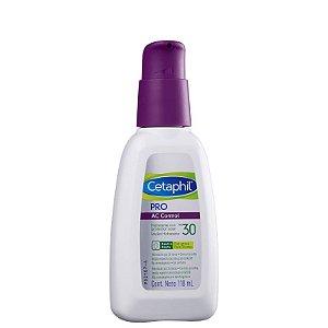Hidratante PRO AC Control Cetaphil - Hidratante facial com FPS 30 - 118ml