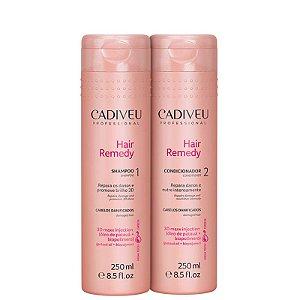 Kit Hair Remedy Cadiveu - Shampoo 250ml e Condicionador 250ml