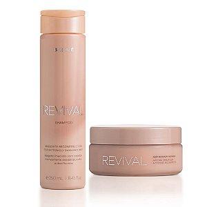 Kit Revival Brae - Shampoo 250ml e Mascara 200g