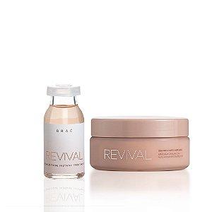 Kit Revival Brae - Mascara 200g e Ampola 13ml