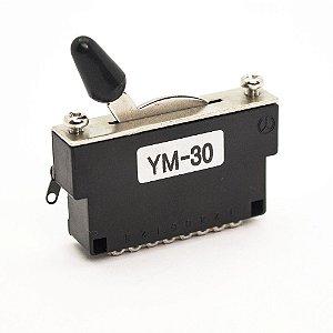 Chave seletora modelo Strato Tele 3 posições Gotoh® YM-30