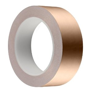 Fita de cobre condutiva blindagem