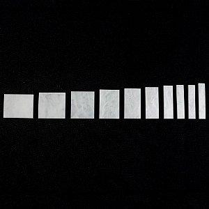 Marcações Gibson® Les Paul Custom (Inlay) - Pearloid branco